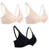 Autumnz -  Basic Maternity/Nursing Bra *ZOE2* (TRIPLE Pack)