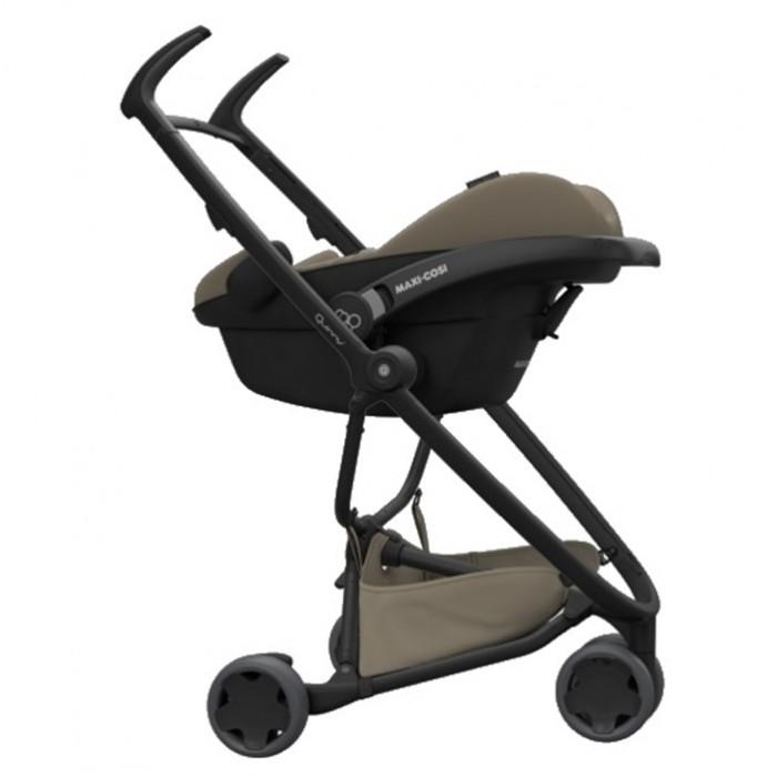 Quinny - Zapp Flex Stroller w Maxi Cosi CabrioFix Carrier *Black on