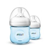 Philips Avent - Bottle Natural 2.0 *125 ML/4OZ* Twin Pack (BLUE)
