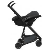 Quinny - Zapp Flex Stroller w Maxi Cosi CabrioFix Carrier *Green on Graphite* (FREE Bumper Bar worth RM140.50)