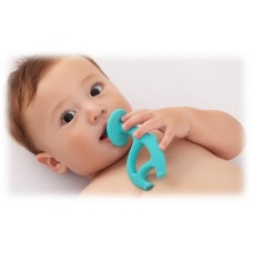 Mombella - Dancing Elephant Teether (Blue) *BEST BUY*