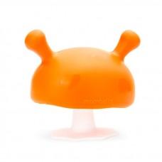 Mombella - Mushroom Teether (Orange) *BEST BUY*