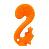 Mombella - Squirrel Teether (Orange) *BEST BUY*