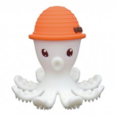 Mombella - Octopus Teether (Orange) *BEST BUY*