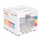 Autumnz - Wide Neck Breastmilk Storage Bottles *7oz* (4 btls)