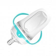 Nuby - 250ML Silicone Comfort Bottle '50001' Medium Flow Nipple, PP Handles