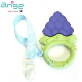 Ange Baby - Fruit Teether with clip (Grape Ring)