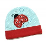 Earth Bebe - Embroidery Newborn Hat (Ladybug)