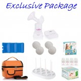 Spectra - Spectra Q Single Electric Breast Pump **EXCLUSIVE PACKAGE**