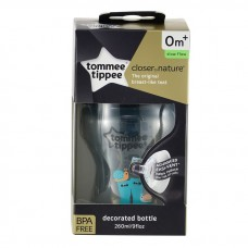 Tommee Tippee - Closer To Nature 9oz PP Tinted Bottle (Single) *Black*