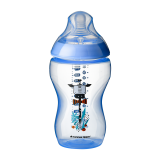 Tommee Tippee - Closer To Nature 12oz PP Tinted Bottle (Single) With Super Soft Teat *Blue*
