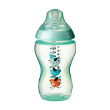 Tommee Tippee - Closer To Nature 12oz PP Tinted Bottle (Single) With Super Soft Teat *Green*