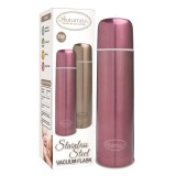 Autumnz - Stainless Steel Vacuum Flask 750ml *Metallic Burgundy*