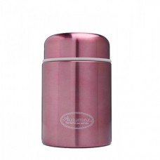Autumnz - Stainless Steel Food Jar 450ml *Metallic Burgundy*
