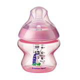 Tommee Tippee - Closer To Nature 5oz PP Tinted Bottle (Single) *Pink* (Loose Pack without Box)