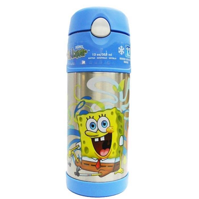 Thermos Ice Cold Bottle 355ml Spongebob F4002sb6