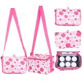 Autumnz - Fun Foldaway Cooler Bag (Pink Bubbles)