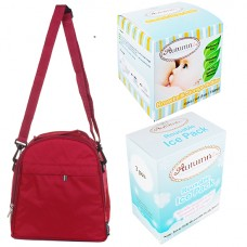 Autumnz - Classique Cooler Bag Complete Set *4pcs* (Scarlet Checks)