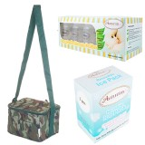 Autumnz - Fun Foldaway Cooler Bag Complete Set (10 btls) - Green Camouflage