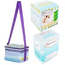 Autumnz - Fun Foldaway Cooler Bag Complete Set (4 btls) - Roman Stripes