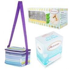Autumnz - Fun Foldaway Cooler Bag Complete Set (10 btls) - Roman Stripes