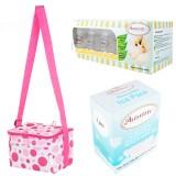Autumnz - Fun Foldaway Cooler Bag Complete Set (10 btls) - Pink Bubbles