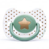 Suavinex - Haute Couture Premium Physio Soother Silicone 0-4m (Green Star)