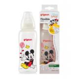 Pigeon - Flexible Streamline Disney Clear PP Nursing Bottle  *250ml/8oz* (Mickey)