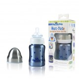 Pacific Baby - Hot-Tot Insulated Baby Bottle 4oz/120ml *Blueberries*
