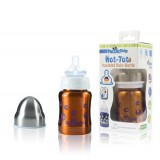 Pacific Baby - Hot-Tot Insulated Baby Bottle 4oz/120ml *Bubbles*