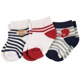 Luvable Friends - Short Crew Sock 3pk (0-6M) *23186S*