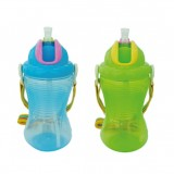 Little Bean - Drinking Cup With Belt 360ml/12oz (Blue & Green)