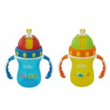 Little Bean - Drinking Cup With Handle 300ml/10oz (Blue & Yellow) *BEST BUY*