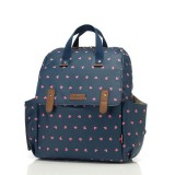 Babymel - Robyn Convertible Backpack (Origami Heart Navy)