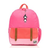 Babymel - Zip & Zoe Junior Backpack (Hot Pink Colour Block)