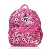 Babymel - Zip & Zoe Junior Backpack (Floral Pink)