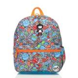 Babymel - Zip & Zoe Junior Backpack (Robot Blue)