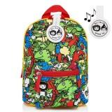 Babymel - Zip & Zoe Mini Backpack & Safety Harness / Reins Age 1-4 Years (Dino Multi)