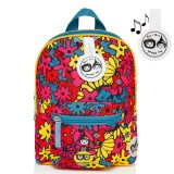 Babymel - Zip & Zoe Mini Backpack & Safety Harness / Reins Age 1-4 Years (Floral Brights)