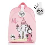 Babymel - Zip & Zoe Mini Backpack & Safety Harness / Reins Age 1-4 Years (Daisy Dragon Castle)