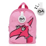 Babymel - Zip & Zoe Mini Backpack & Safety Harness / Reins Age 1-4 Years (Daisy Dragon Face)