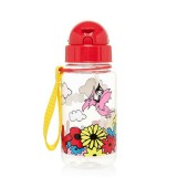 Babymel - Zip & Zoe Drinking Bottle with Straw (Floral Multi)