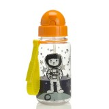 Babymel - Zip & Zoe Drinking Bottle with Straw (Spaceman)