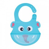 Autumnz - Adjustable Soft Silicone Bib *Ellie Elephant*