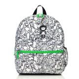 Babymel - Zip & Zoe Junior Backpack (Dino Black & White)