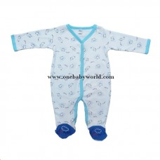 ABaby - Baby Romper Suit *Baby Elephant (Light Blue)* BEST BUY