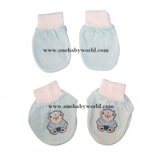 ABaby 3D Mitten Booties Set *Blue Bear*