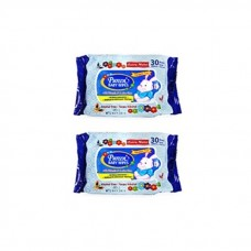 Pureen - Baby Wipes 30's x2 (Blue Packaging) *BEST BUY*