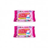 Pureen - Baby Wipes 30's x2 (Pink Packaging) *BEST BUY*