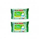 Pureen - Baby Wipes 30's x2 (with Vitamin E & Aloe Vera) *BEST BUY*
